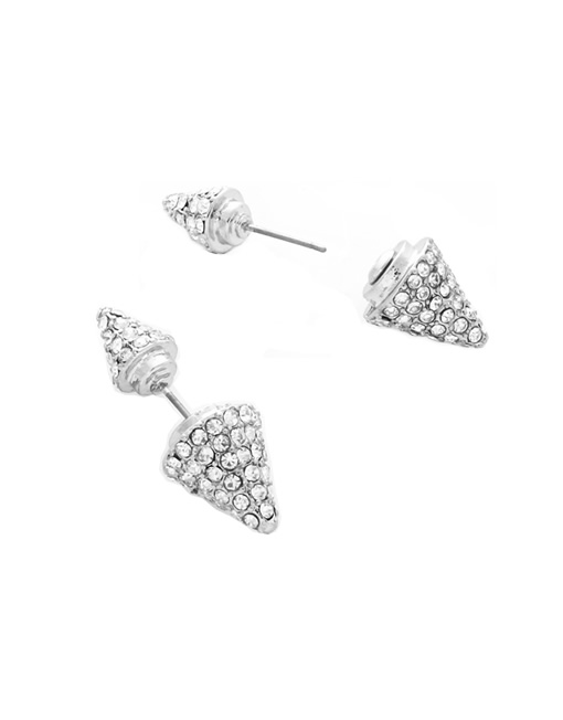 09360fd5fea07c Double Sided Pave Spike Earrings - CONCEPT x Signature9