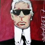 Homage to Lagerfeld