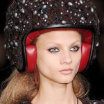 Lagerfeld's Jewel-Encrusted Scooter Helmets Out Now