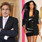 Mounir Moufarrige (L), Estrella Archs and Lindsay Lohan (R)