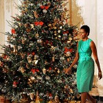 White House/Green Christmas