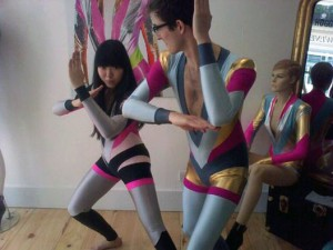 Susie Bubble in the catsuit photo that launched 1000 comments