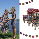Wood & Wool Stool: State of Independence