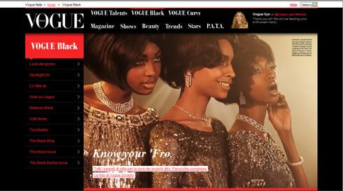 Vogue Italia Black