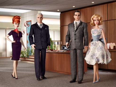 Mad Men Barbie DollsMad