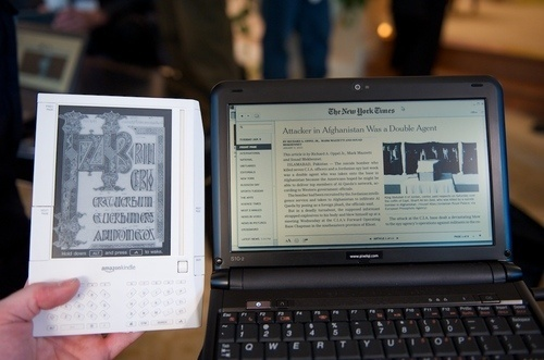 Picture from Gizmodo. The Pixel Qi Display will Revolutionize your Laptop Screen.