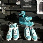 Blue suede sneakers and boots from the Forfex Fall/Winter collection