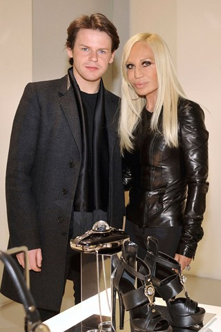 donatella versace. now designer of Versace#39;s