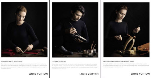 Louis Vuitton Savoir Faire ads
