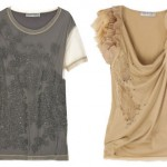 Valentino T-shirts, at left $1350, at right $890
