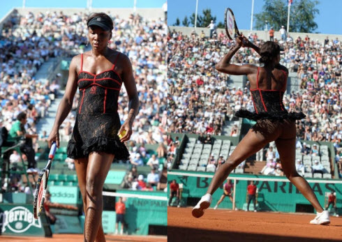 Venus Williams' French Open 2010 outfit