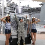 Express Launches Honor Fragrance at Fleet Week Event