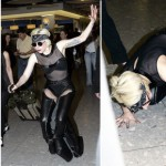 Fallen Idol: Lady Gaga Discovers Some Shoes Aren't Made for Walking