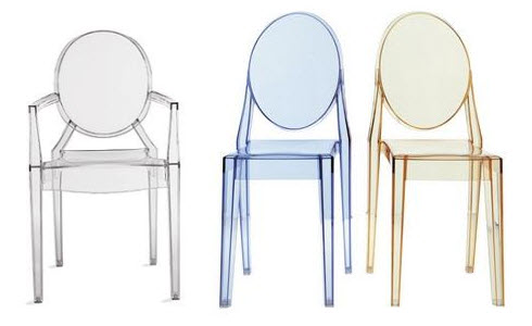 king and queen plastic the louis ghost chair