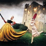 The late Alexander McQueen and Isabella Blow in a photo by David LaChapelle