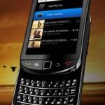 RIM's first BlackBerry 6 Phone: The BlackBerry Torch