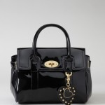Mulberry for Target Black Patenet Satchel - $34.99