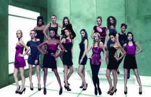 "Tyra's newest crop of ""high fashion"" models"