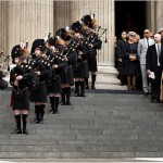 Stars Step Out for Alexander McQueen's Memorial Service in London