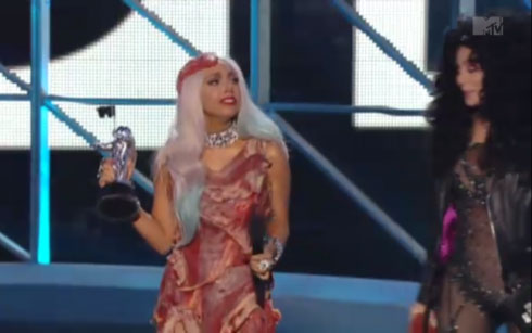 lady gaga meat dresses. Why Lady Gaga#39;s Raw Meat Dress