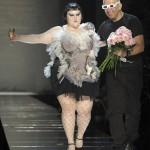 Mum's the Word On Plus Size Models at Jean Paul Gaultier - Except From Gaultier
