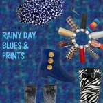Fall Fashion: Pick-Me-Up Print Umbrellas and Rain Boots