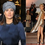 Salma Hayek and Kate Moss try to reignite the trend of glamorous turbans