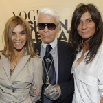 Karl Lagerfeld Isn't Sure About New French Vogue Editor Emanuelle Alt