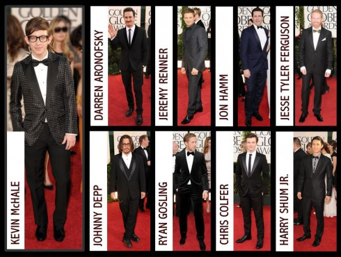 Best Dressed Men At the 2011 Golden Globes. by YM OusleyJanuary 17, 2011
