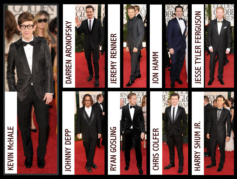 Best And Worst Dressed Golden Globes 2011: Best Dressed Men At the 2011