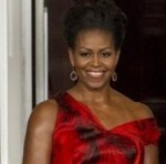 Michelle Obama Wows In Red McQueen for China's State Dinner, Anna Wintour Underwhelms