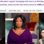 Oprah's OWN Network Debuts: Her Advice To Those Who Want To Do Something Similar