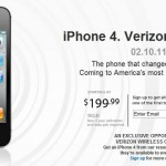No Surprise: The Verizon iPhone Launched Today, Gets a February Release Date
