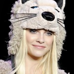 Anna Sui&#039;s furry cat hat. Image via Style.com