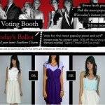 FashionStake's new voting booth feature