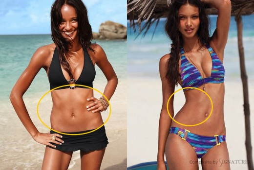 The Gallery of Victoria's Secret Photoshop Failures
