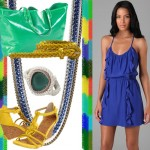Brazilian Blue, Green and Yellow: Color Blocking