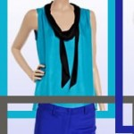 Royal Blue, Turquoise and Grays: Color Blocking
