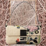 Fendi Straw Floral Baguette: The Daily Bag