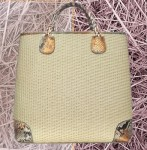 Ghibli Straw and Python Tote: The Daily Bag