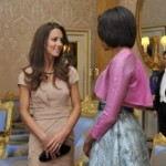 Michelle Obama and (Duchess) Kate Middleton Meet! Fashion World Does Not End