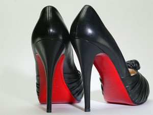 cfddfb9e7da6 ... Colored Shoe Sole Kit - DIY Red Bottom - Slip .. Faking It  DIY  Louboutin Style Red Soles
