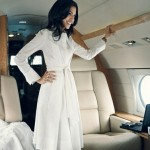 Huma Abedin in an issue of Vogue