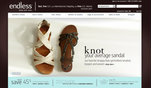 7f31df6a1b Shoes Around the World  Endless.com Introduces Free International Shipping