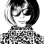 Twitter Illustrator Breaks the Fashion (QR) Code