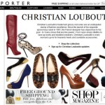 E-commerce stores, like Net-a-Porter