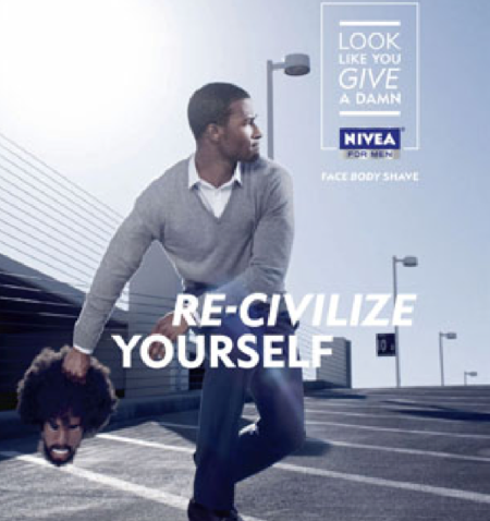 Badvertising: Nivea Pulls Ad Suggesting Men 'Re-Civilize' Themselves