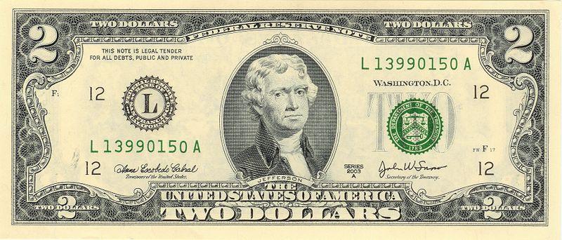 new two dollar bill - photo #6