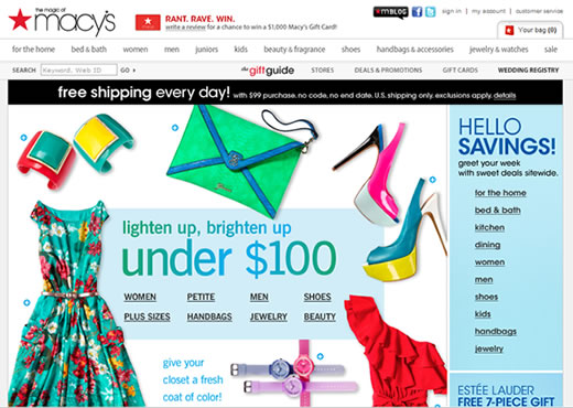 Strong Online Sales Growth and Women's Fashion Drove Macy's $1.8 ...