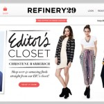 Refinery29 Shops Screenshot